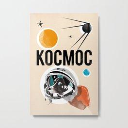 Kocmoc/Laika Metal Print