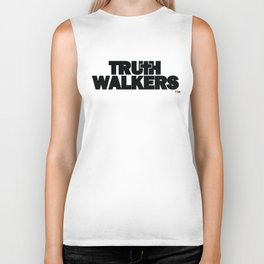 Truth Walkers Black Logo Version 2 Biker Tank
