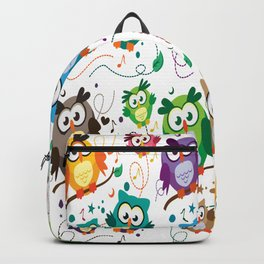 CUTE PLAYFUL OWL Backpack