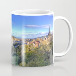 Edinburgh City Panorama Coffee Mug