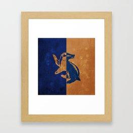 Huffleclaw Framed Art Print