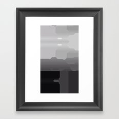 Segment Framed Art Print
