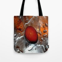 egg Tote Bags featuring egg by  Agostino Lo Coco