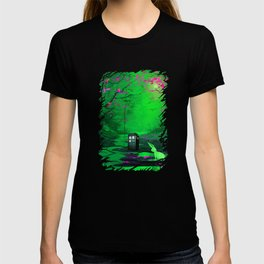 Tardis Stay Lost In The Forest T-shirt