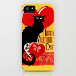 Le Chat Noir Valentine iPhone Case