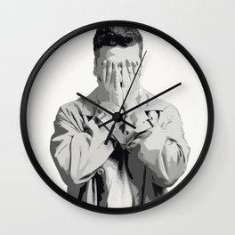 Oscar Isaac 9 Wall Clock