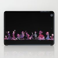 horror iPad Cases featuring Horror Princess by Ann Marcellino