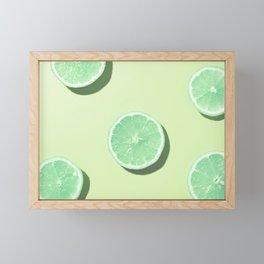 #1_Acid lemons Framed Mini Art Print