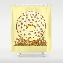 In Bloom Donut Shower Curtain