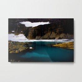 Grinell Glacier  Metal Print