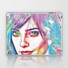 Ashley Greene (Creative Illustration Art) Laptop & iPad Skin