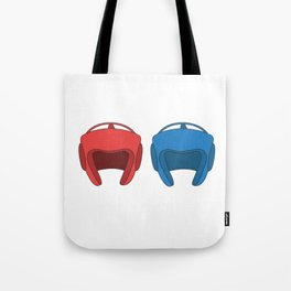 The Fighter's Sparring Tshirt Design Sparring partner Tote Bag