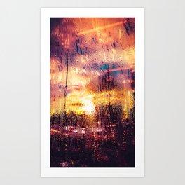 Rainy Day Paintjob Art Print