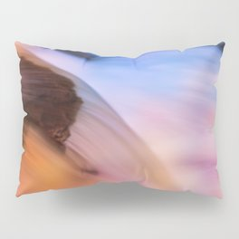 Stream of Swallowed Colors Pillow Sham