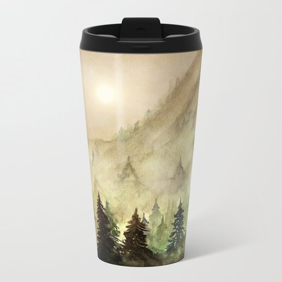 All I Need Metal Travel Mug