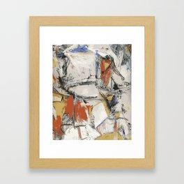 Digital Interchange Framed Art Print