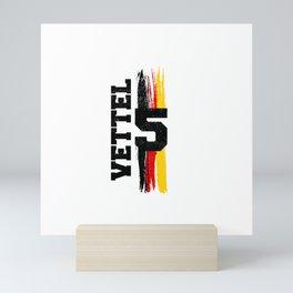 Seb 5 Germany Retro Mini Art Print