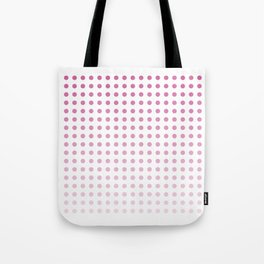 Polka Dots/Pink Tote Bag