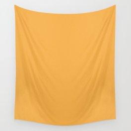 Pastel Orange Light Pixel Dust Wall Tapestry