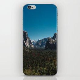 Tunnel View, Yosemite National Park II iPhone Skin