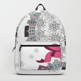 Christmas Town Backpack