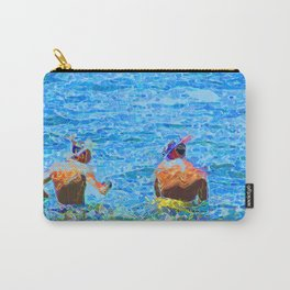 Let's Snorkel  Carry-All Pouch