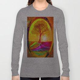 Tree of Life Sunrise Long Sleeve T-shirt