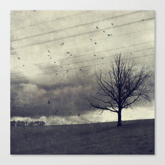 one of these days - autumn mood Canvas Print