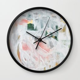 Emerging Abstact Wall Clock