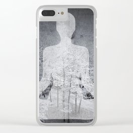 The Hidden Forest Clear iPhone Case