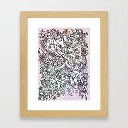 'a sort of emotional anemia.' Framed Art Print