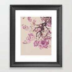 Purple Dreams Framed Art Print
