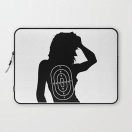 Female Human Shape Target Laptop Sleeve