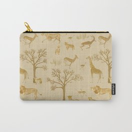 Safari in the Serengeti Carry-All Pouch