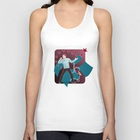 heroes Tank Tops featuring Heroes by Ilthit