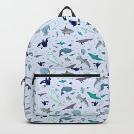 Ocean Animals Backpack