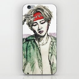 BTS V (2) iPhone Skin