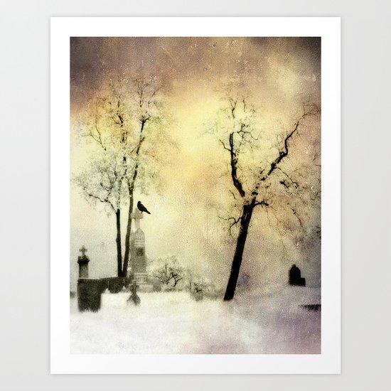 Burnt Sky Art Print