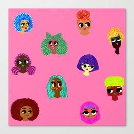 Sweet Doll Bits Canvas Print