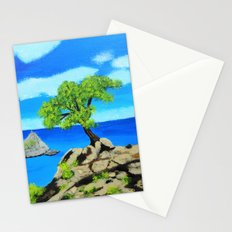 The lookout tree Stationery Cards