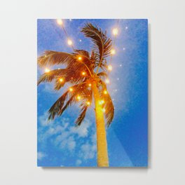 A Party Palm in Naples Florida Metal Print