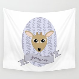 Fraulein Fawn Wall Tapestry
