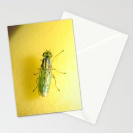 Alien Fly (iPhone skin) Stationery Cards