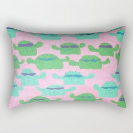 Cool Cactus Pattern Rectangular Pillow