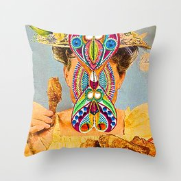 Hermetic Minne Counter-Fit Throw Pillow