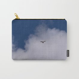 Eagle in the sky Carry-All Pouch