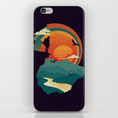 Cliffs Edge iPhone & iPod Skin