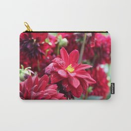Blooming Red: Imperfectly Perfect Carry-All Pouch