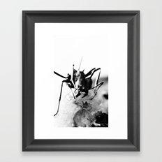 Atomic ant Framed Art Print