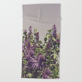 Wild Lilacs Beach Towel
